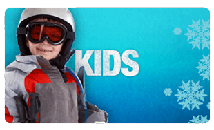For all-ages; kid's can also get geared up through Mountain Threads!